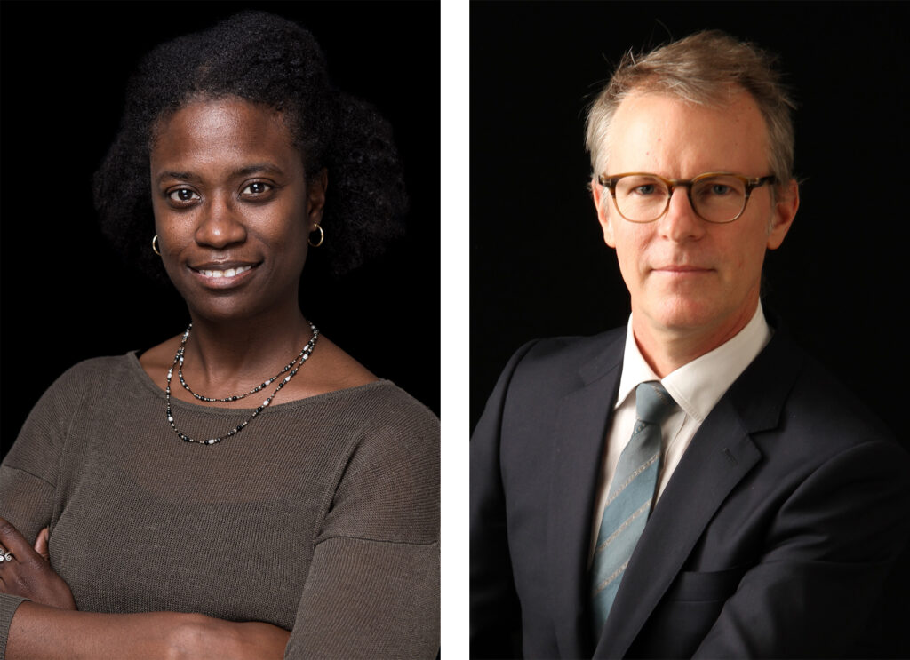 Trista Bridges and Donald Eubank, cofounders of Read the Air and coauthors of Leading Sustainably.