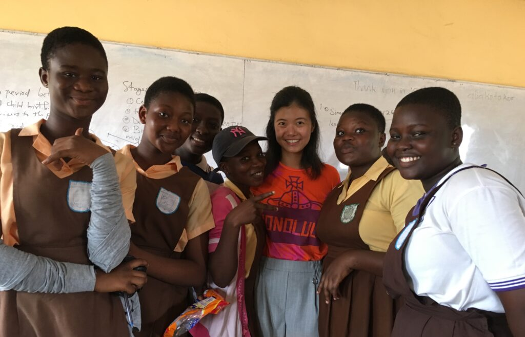 Atoka Jo is building toward her dream career with side projects like supporting borderless education in Africa