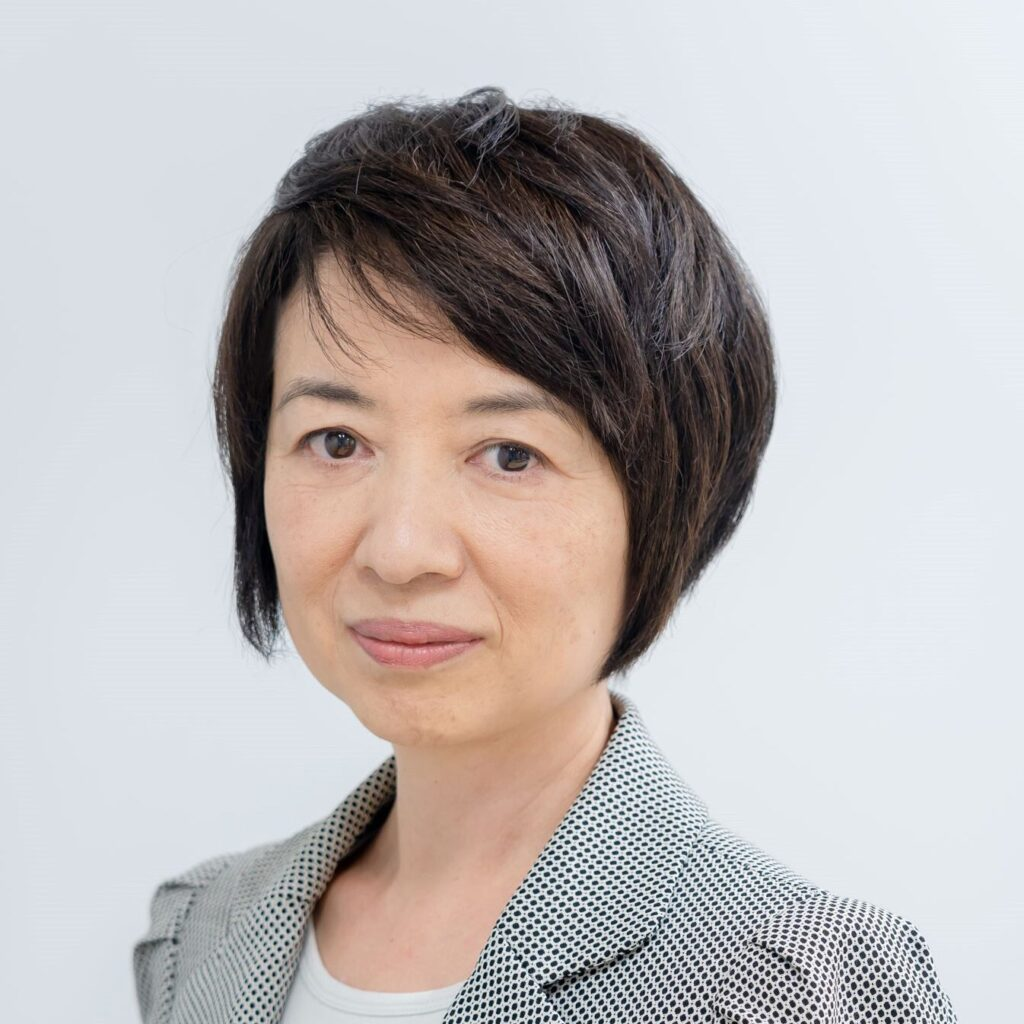 Profile image of Ms. Yukiko Ono, who oversees DX and JR East diversity initiatives